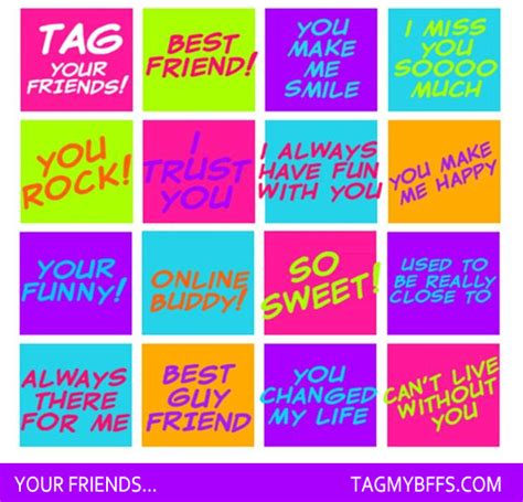 Tag 15 Friends Quotes