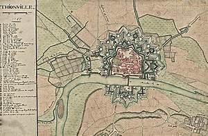 Plan De Metz : carte et plan de thionville la mairie de thionville sa ~ Farleysfitness.com Idées de Décoration