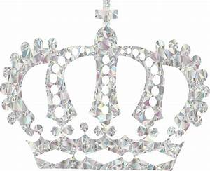 Clipart - Crystal Royal Crown No Background