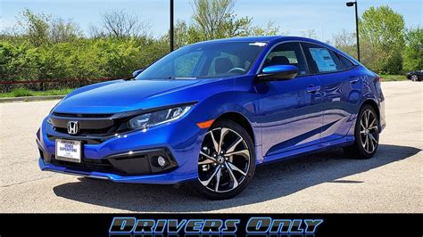 Maybe you would like to learn more about one of these? 47 Best Pictures Honda Civic Sport 2020 : Test Drive 2020 ...