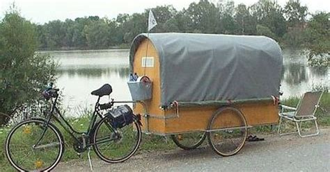 German Cyclist Günther Lorenz Designed This Diy Chuckwagon