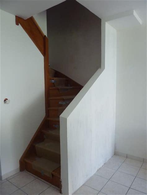 douleur genou quand je descend escalier l avanc 233 e des travaux cr 233 ation d un garde corps pour l escalier f 233 esmaison