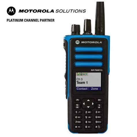 motorola xir p  view specifications details