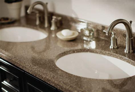 laminate countertops for bathroom vanities guide to choosing bathroom countertops and vanity tops