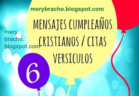 Mensajes Cristianos Cumpleaños ⭐ Versículos Citas