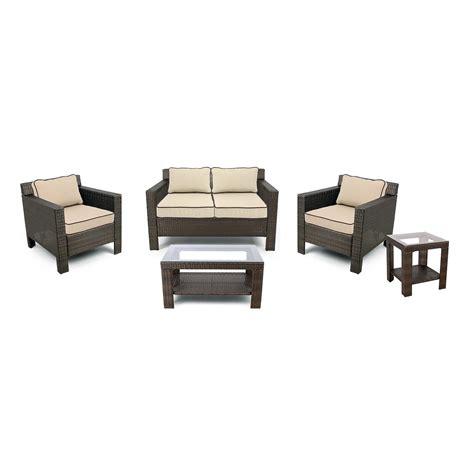 grand basket company glen cove patio furniture set 5