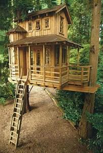 Maison Pour Enfant En Bois : cabanes dans les arbres pour petits et grands enfants ~ Premium-room.com Idées de Décoration