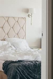 Tete De Lit Tissu : fabriquer une t te de lit originale la maison vivante ~ Premium-room.com Idées de Décoration