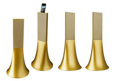 philippe starck best designs philippe starck designs the ancient gold zikmu speakers for parrot
