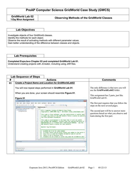 unit lab png worksheet a methods java curriculum for ap
