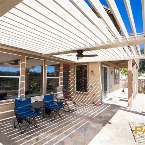 louvered patio covers california apollo louvered photo gallery orange county