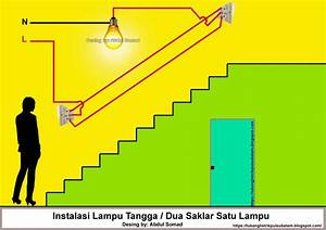 Cara Memasang Saklar Dua Arah  Two Way Switch