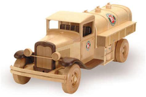 gas oil truck  woodworking plan