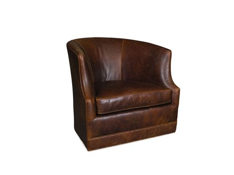 Furniture Brown Leather Comfortable Swivel Chair With by Chair Design Ideas Comfortable Leather Swivel Chairs For