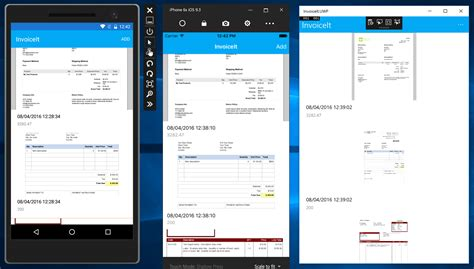 Performing Ocr For Ios, Android, And Windows With