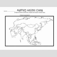 Ancient China Worksheets & Printables By Glitter In Third Tpt