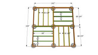 12x12 shed floor plans square gazebo plans for the garden wishlist gazebo