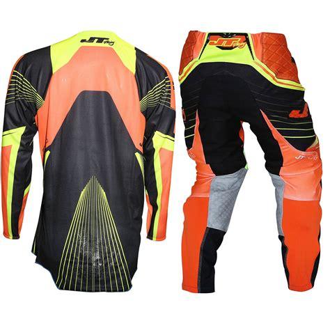 orange motocross gear jt racing new 2016 mx protek subframe dirt bike black