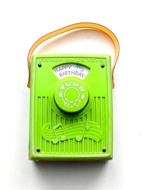 Their rise to popularity began in the 19th century, and all these years later you can find a music box in nearly the vintage music box has a broad appeal and is readily available at antique shops and online brokers. Vintage 1970 Fisher Price Music Box Pocket Radio Happy ...