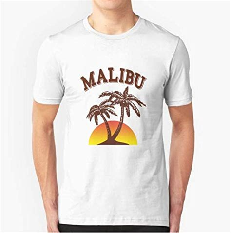 I couldn't so now i am asking ug. Amazon.com: Malibu rum - 100% cotton black and white t ...