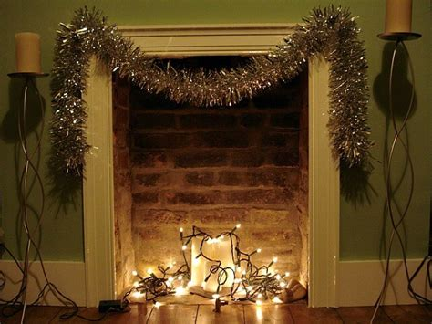 Lights Fireplace - 10 non tacky ways to decorate with lights year