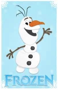 Cartoon Olaf From Frozen
