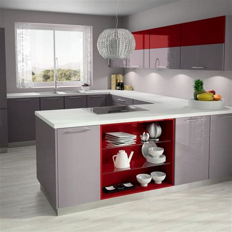 cuisine beige et ilot album media hold up kitchen design rangement