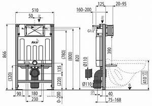 Abstand Wc Wand : wc vorwandelement f r trockenbau unterputzsp lkasten ~ Lizthompson.info Haus und Dekorationen