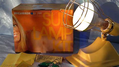 vintage 80s sylvania electric sun l tanning light