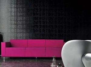 Black Wallpaper Home Decor