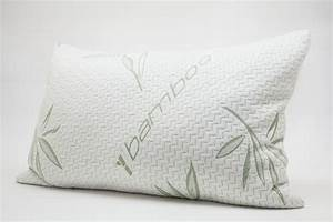 Cool bamboo pillow good sleep better life for Are bamboo pillows washable