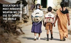 Education Is The Most Powerful Weapon Poster : education is the most powerful weapon we can use to change the world nelson mandela ~ Markanthonyermac.com Haus und Dekorationen