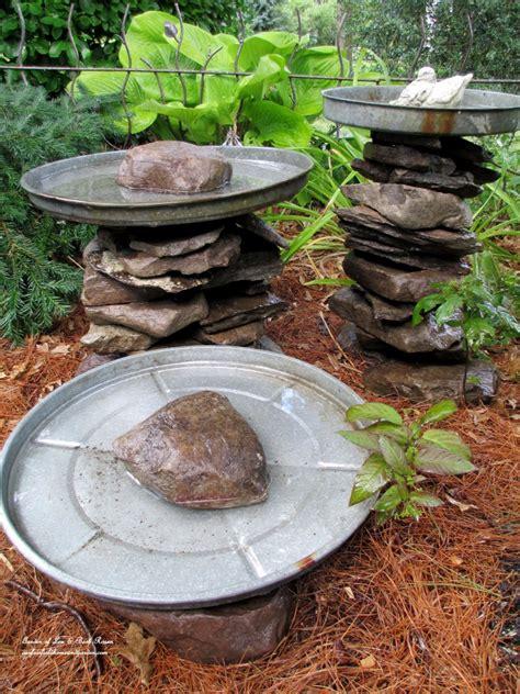 7 resourceful diy birdbath ideas to bring life to any yard