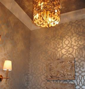 Faux finish painting trends for interior designers for Interior wall painting ideas stenciling