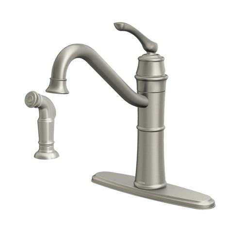 Mobile Home Kitchen Faucet With Sprayer