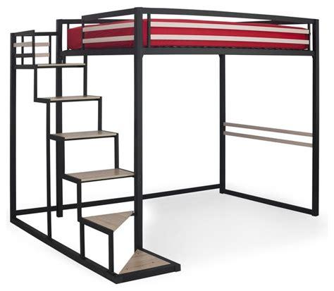 lit 2 places sureleve home mezzanine 140x200cm contemporain lit mezzanine par alin 233 a mobilier d 233 co
