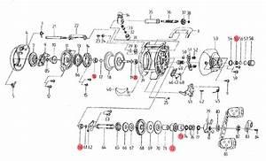 Baitcasting Reel Parts Diagram