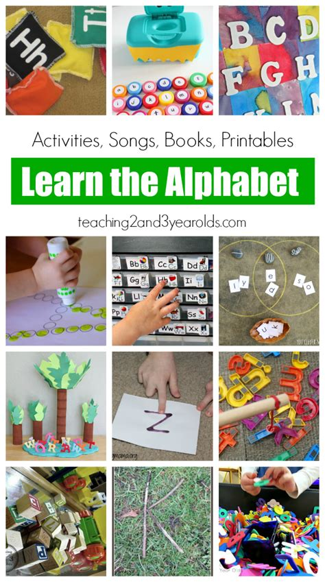 preschool literacy activities 23 alphabet activities for 837