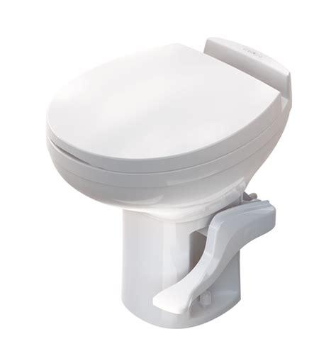 residence white low profile thetford rv toilet