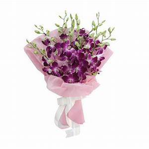 Purple Orchid Flower Bouquet | www.pixshark.com - Images ...
