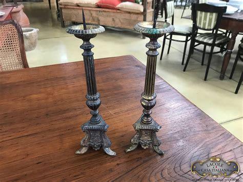 candelieri antichi antichi candelieri in fusione di ottone lacole casa