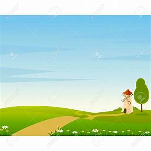 Cartoon Farm Landscape Clipart | Clipart Panda - Free ...