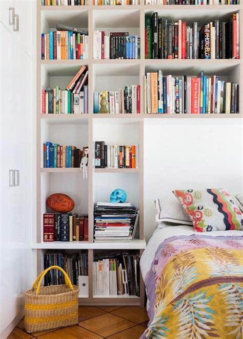 creative bookshelf headboard design ideas