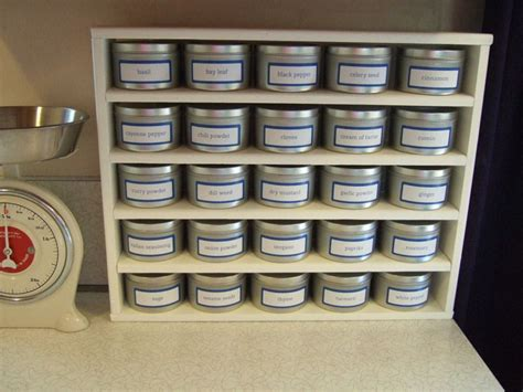 Spice Rack Without Jars by How To Make Your Own Spice Rack Without Expensive Power