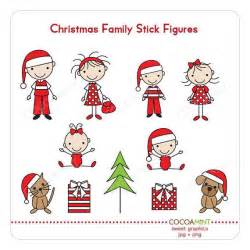 Stick Figure Family Clip Art