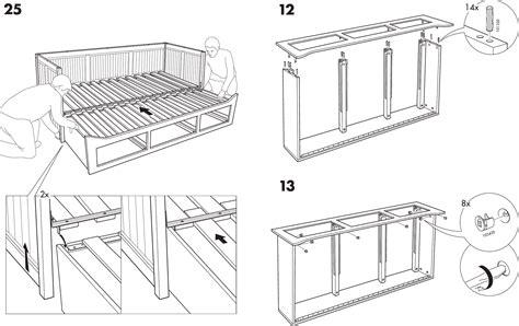 Ikea Bed Gebruiksaanwijzing by Handleiding Ikea Hemnes Bedbank Pagina 9 12 Dansk
