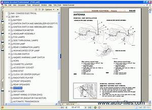 Mitsubishi Pajero Workshop Manual  Repair Manuals Download  Wiring Diagram  Electronic Parts