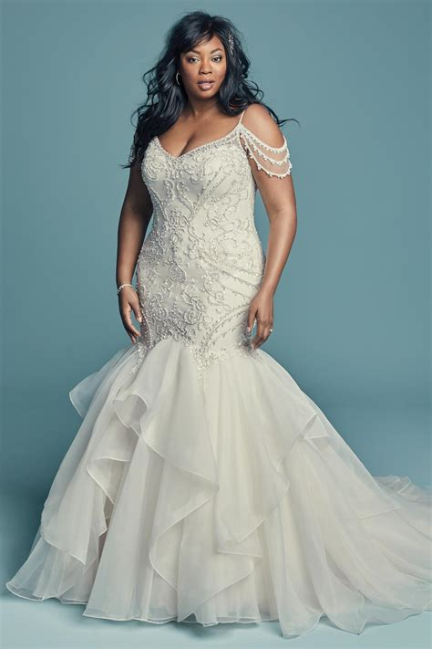 brinkley lynette wedding dress  maggie sottero