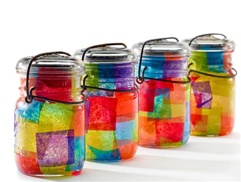 crafts to make with glass jars mirrored mercury glass mason jars other mason jar crafts
