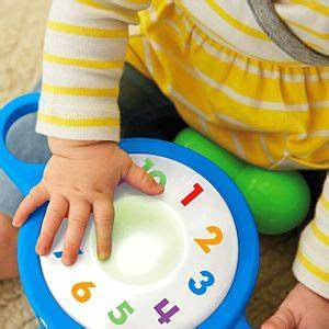 Baby Light Up Cloud Rattle Laugh Learn Tap Teach Drum